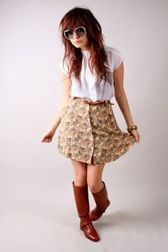 Nikki thought you would like this!! Cool outfit! I like her hair too!!