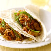 Slow Cooker Moo Shu Pork- made this with a pork loin and it tastes like it came from a Chinese restaurant. Trying it tonight with beef since it's what's on hand.