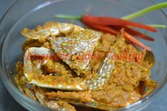 Spicy Chili Crab Ingredients 3 crabs cut into half 1 onion sliced 1 teaspoon homemade ginger-garlic paste 1 teaspoon . Spicy Chili, Garlic Paste, Engineers, Shrimp, Friday, Homemade, Cooking, Food, Kitchen
