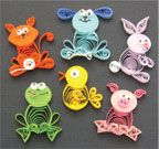 Animal Buddies Quilling Kit from Quilled Creations