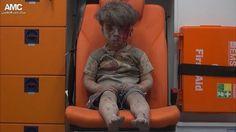O 'horror de Aleppo' em imagem de menino que sobreviveu a ataque aéreo na Síria - BBC Brasil