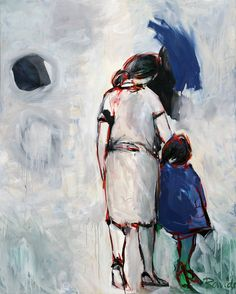 Sin título. Óleo sobre lienzo. 162 x 130 cm. 2006. - Artista: Jorge Rando