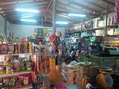 Inside Captain Shop @ Koh Kood (Thailand)