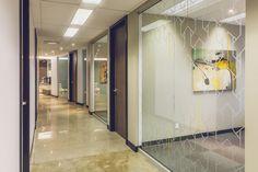 www.liaisonconcept.com | Promutuel Assurance - panneaux vitrés - Liaison Concept Divider, Concept, Room, Furniture, Home Decor, Sign, Bedroom, Decoration Home, Room Decor