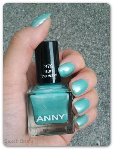 [Review + Swatch] Anny - Surf the Wave | Sweet Cherry  http://sweetcherry11.blogspot.de/2012/07/review-swatch-anny-surf-wave.html