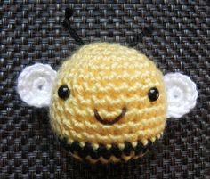 Crochet Bee/ Toy Bee/Amigurumi Bee por LiliLoveCreations en Etsy