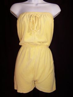 terry romper... Gosh I loved            had one of these...was not the best style for my body type!