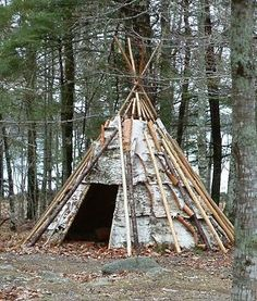 Mi'kmaw Daily Life - Shelter and Implements