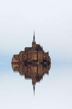 Mont Saint Michel, Francia.