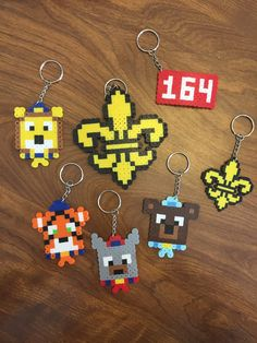 Perler bead project Cub Scout Law, Cub Scouts Wolf, Tiger Scouts, Scout Mom, Boy Scouts, Cub Scout Skits, Cub Scout Games, Cub Scout Activities, Camping Activities