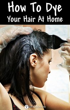[ Hair Care : How To Dye Your Hair At Home: To save yourself the expense, dyeing your hair at home is the perfect solution. Spending time figuring out the Sleep Hairstyles, Down Hairstyles, Easy Hairstyles, Wedding Hairstyles, Hairstyle Ideas, At Home Hair Color, Color Your Hair, Curly Wedding Hair, Balayage Color