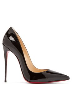 Christian Louboutin So Kate 120 patent-leather pumps Heels Outfits, Mode Outfits, Fashion Outfits, Fashion Heels, Fashion Fashion, Runway Fashion, Fall Outfits, Fashion Trends, Black Christian Louboutin