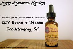 DIY Beard and Stache conditioner oil.