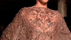 girlannachronism:  Elie Saab fall 2012 couture details