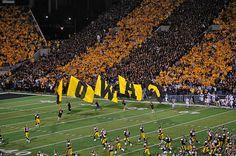 Kinnick Stadium...Go Hawks! Gotta love U of Iowa! Great Memories!!