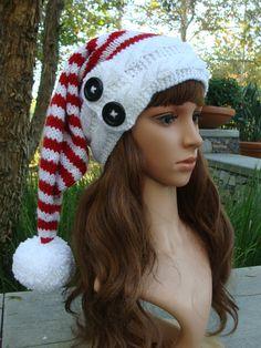 ccf32b7321229 51 Best Knit Santa Hat (Patterns) https   www.etsy.com shop ...