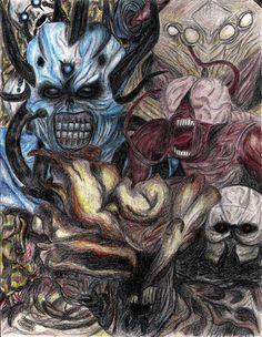 Game Monsters by MrJuniorer on DeviantArt