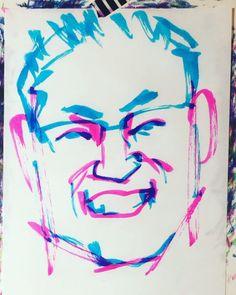 "torao fujimoto on Instagram: ""#ototakehirotada #乙武洋匡 #writer #ライター #cowperking #ZETTO #五体不満足 #だいじょうぶ3組 #19760406 #birthday #誕生日 #1minut #1分 #1mindraw  #一分描画 #portrait…"" Instagram"