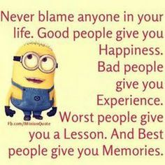 Minions Happiness, lesson 。◕‿◕。 See my Despicable Me Minions pins https://www.pinterest.com/search/my_pins/?q=minions Join the hottest Group board on Pinterest! https://www.pinterest.com/busyqueen4u/pinterest-group-u-pin-it-here/