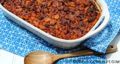 When my mom passed down her recipe for Calico Beans, loaded with 3 kinds of beans, beef and bacon, I knew why everyone called them the BEST baked beans!