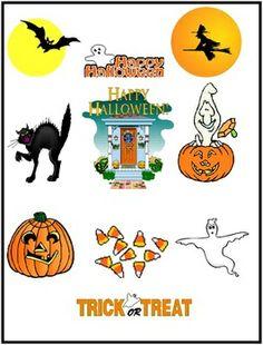 Halloween Clipart {FREEBIE}