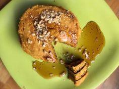 Sweet Potato Pancakes Recipe (Yummy!) - DrJockers.com Grain Free Pancake Recipe, Sweet Potato Pancakes, Healthy Sweets, Baked Potato, Keto Recipes, Breakfast Recipes, Gluten Free, Potatoes, Tasty