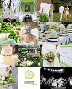 kelly-green-apple-black-white-modern-wedding-inspiration-board