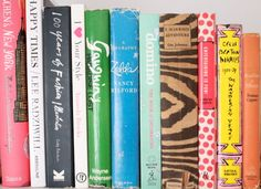 Bright book collection.