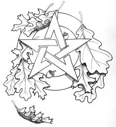 Celtic Pentagram Drawing Celtic pentacle tattoo celtic