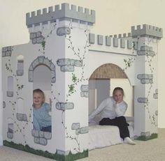 Castle Bed for Our Beloved Daughter