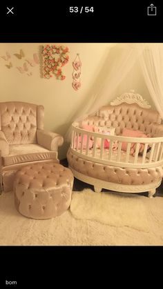 Ideas Baby Girl Room Decorating Ideas Diy Nurseries Cribs For 2019 Baby Bedroom, Baby Room Decor, Girls Bedroom, Nursery Decor, Nursery Ideas, Girl Nursery, Girl Room, Diy Zimmer, Baby Room Design