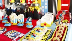Wonder Woman Themed Party