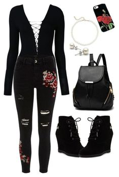 Bad Girl Outfits, Swag Outfits For Girls, Girls Fashion Clothes, Teenager Outfits, Teen Fashion Outfits, Summer Outfits, Edgy Teen Fashion, Really Cute Outfits, Cute Casual Outfits