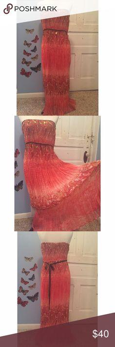 Boston Proper Boho Paisley Maxi Dress Measurements - Bust 16in (stretches) Length 44in Boston Proper Dresses Maxi