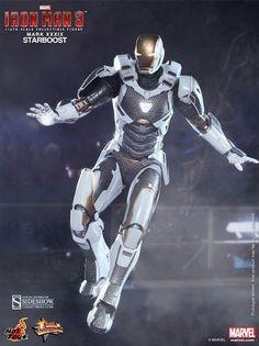 Figurine #Starboost - Edition limitée - Movie Masterpiece - #HotToys - #IronMan