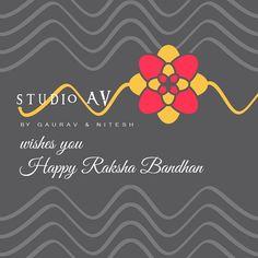 Make your sister feel special this Raksha Bandhan with @studioav_by_gauravnnitesh  #studioavbygauravnnitesh #rakshabandhan #rakhi #brotherhood #sisterhood #festival #rakhi #bond #sibling #happiness #joy #special #occasion