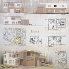 Architecture Concept Diagram, Architecture Panel, Architecture Graphics, Modern Architecture, Interior Design Presentation, Architecture Presentation Board, Appartement Design, Sketch, Photoshop