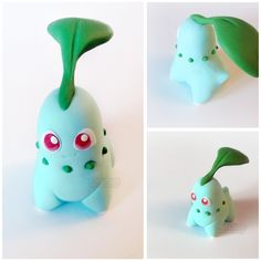 Small Chikorita ! - Available on my Etsy Shop: www.etsy.com/fr/shop/AmchanShop