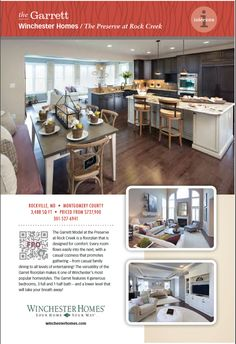 Great furniture in this ad for Brookfield Homes