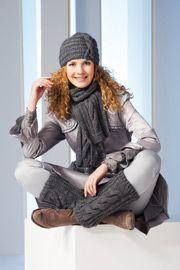 Sapka, sál és lábszárvédő - Kötött kedvenceink online