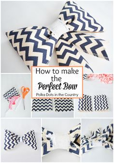 How to make the perfect bow tutorial 2