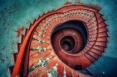 Espectaculares escaleras de caracol