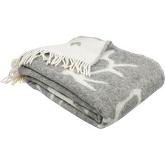 Gray Saaga (Saga) nap blanket brings a northern breeze to your home. Made of 100 % wool, this blanket is in size and designed by Minna Niskakangas. Villa, Cushions, Textiles, Decoration, Blankets, Dreams, House, Throw Pillows, Decor