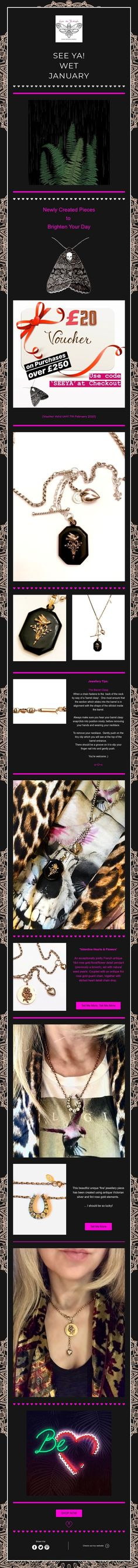 New Creations & Special Voucher Code