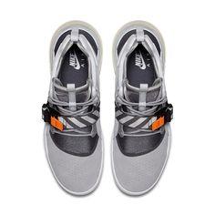 088465f09c618 Nike Air Force 270 Wolf Grey   AH6772-002   Men s Vintage Box Logo Orange