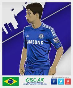 Oscar #StickersProject V29 » #Football #Panini #Estampas #Soccer #Brasil2014 http://www.akyanyme.com/index.php/es/portafolio/fanart/brazil-2014/stickers-brazil-2014/297-sticker-brazil-2014-v29