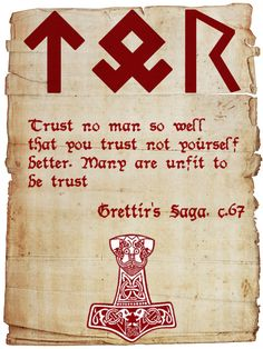 ☆ Viking Quote 13 :¦: By SkaldicProductions ☆