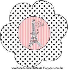 flower decoration Party Printables, Free Printables, Paris Rosa, Paris Party, I Love Paris, Retirement Parties, Writing Paper, Flower Decorations, Paper Dolls