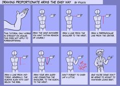 Tutorial- Proportionate Arms by Fyuvix on deviantART