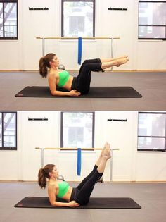 10 pilates moves to master for flat abs